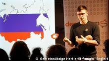 Deutsch-russischer demoSlam in Frankfurt am Main