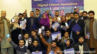 DW Akademie Pakistan - Digital Citizen Journalism Training