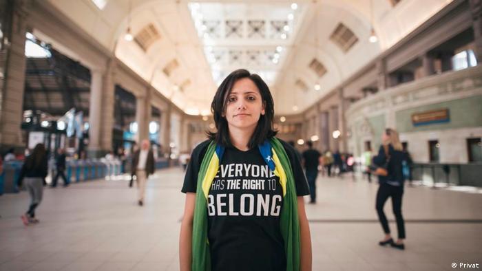 Maha Mamo Aktivistin für Staatenlose (Privat)