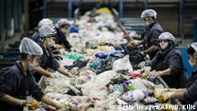 Türkei Recyclinghof in Istanbul (Getty Images/AFP/B. Kilic)