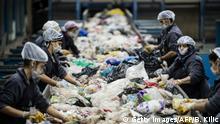 Türkei Recyclinghof in Istanbul