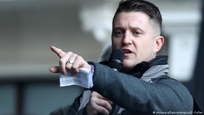Facebook, Instagram ban British far-right figure Tommy Robinson