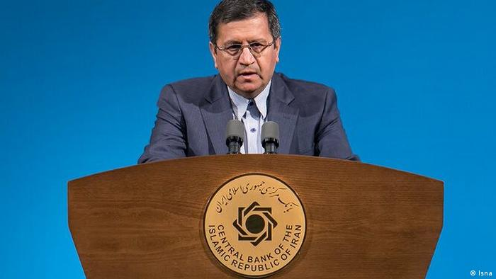 Iran Chef der Zentralbank Abdolnaser Hemmati