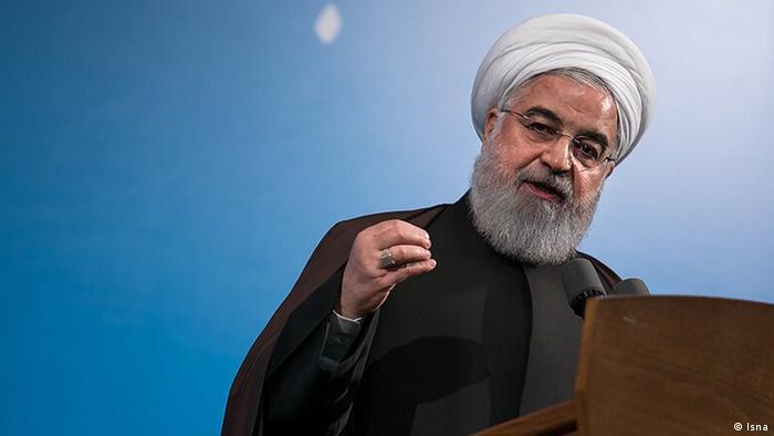 Iran Staatspräsidemt Hassan Rohani (Isna)