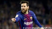 Barcelona vs Real Madrid - Lionel Messi