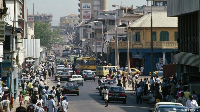 Ghana Project BG Ghana's viele Gesichter Accra (Imago/UIG)
