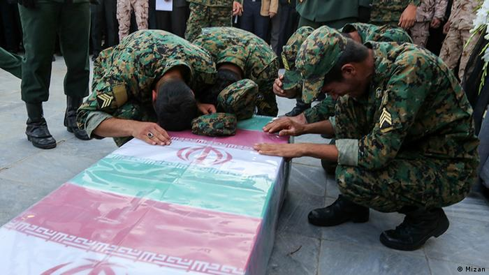 Getötete Soldaten der iranischen Revolutionsgarden in Syrien