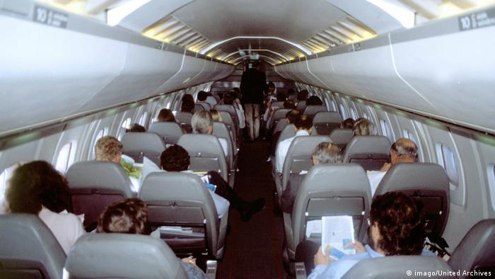 Concorde cabin