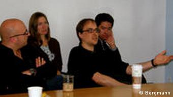 Diskussion am Whitehead Institut in Cambridge Massachusetts