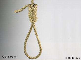 A hanging noose