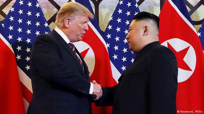 Vietnam, Hanoi: Treffen Donald Trump und Kim Jong Un (Reuters/L. Millis)