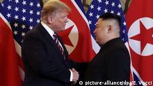 Vietnam, Hanoi: Treffen Donald Trump und Kim Jong Un