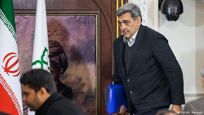 پرویز حناچی، شهردار تهران، از جناح اصلاحطلب حکومت جمهوری اسلامی