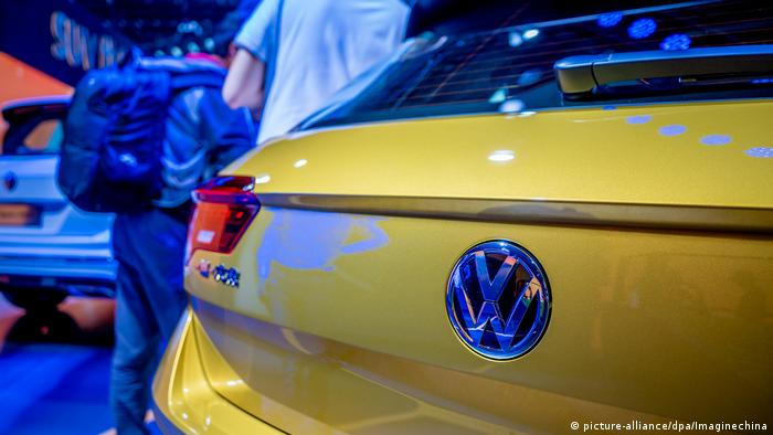 A VW car (picture-alliance/dpa/Imaginechina)