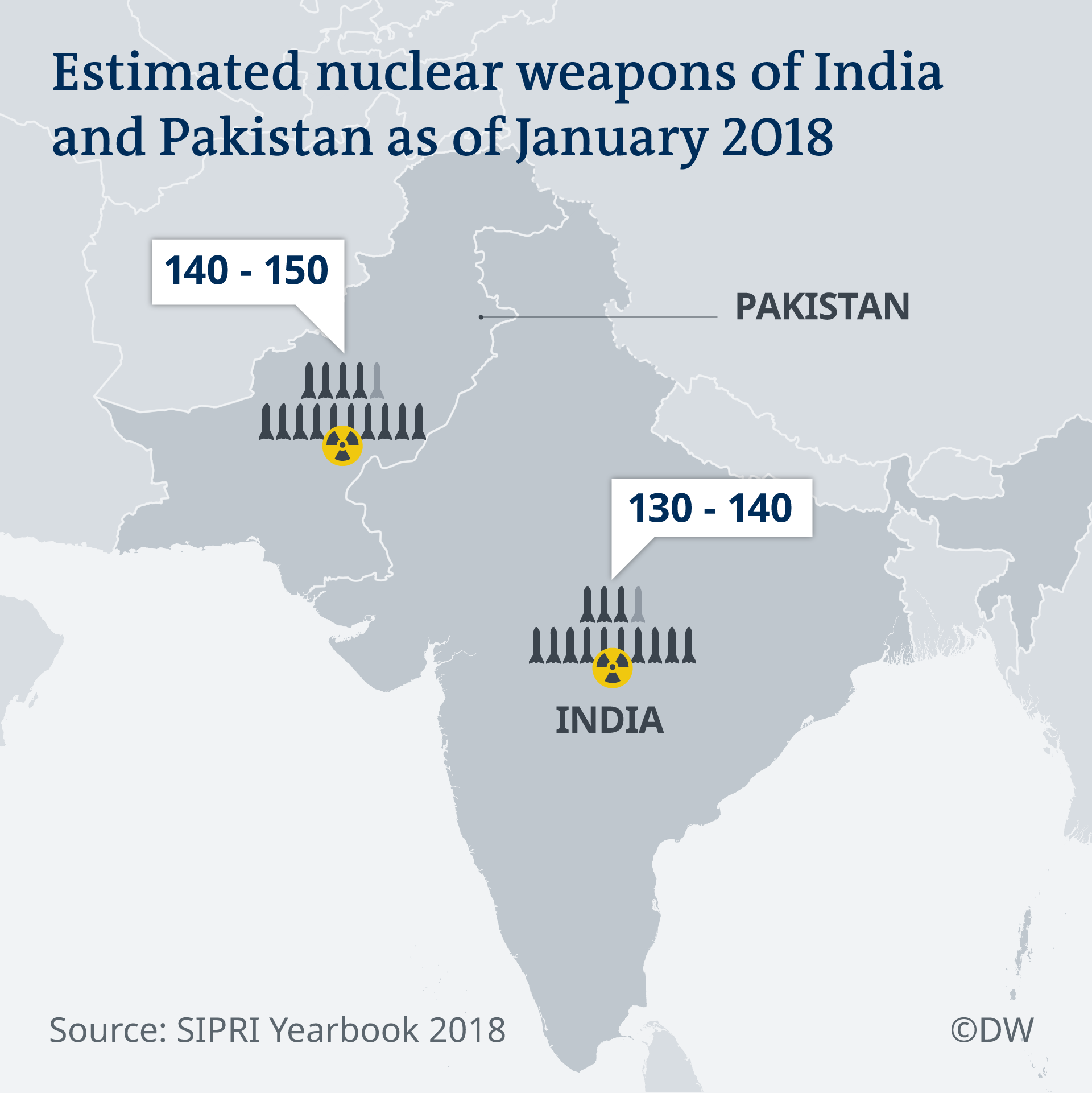Nuclear fears abound after India-Pakistan military