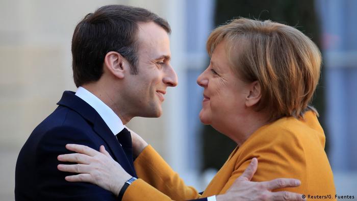 Frankreich, Paris: Staatsbesuch Angela Merkel trifft Emmanuel Macron (Reuters/G. Fuentes)