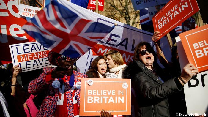 England, London: Brexit Proteste