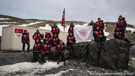 Antarktis Türkei errichtet Polarstation (picture-alliance/AA/O.E. Kizil)