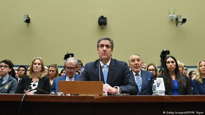 USA Washington - Michael Cohen vor Aussage