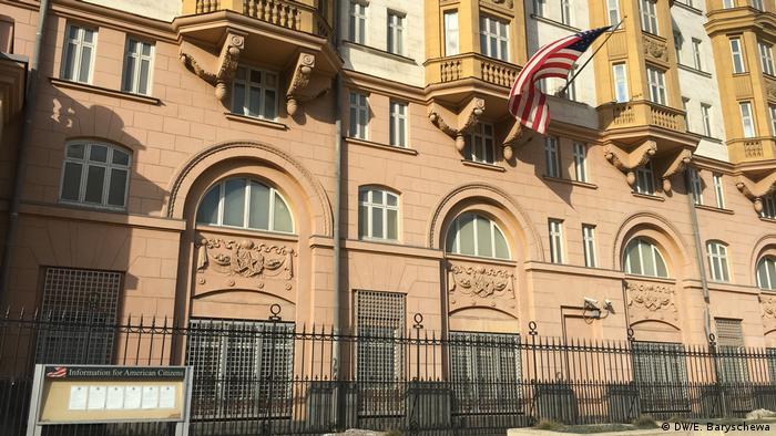 Russland - Amerikanische Botschaft in Moskau