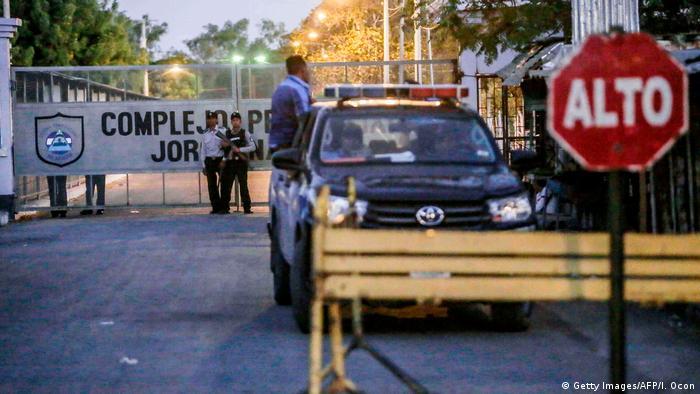 Nicaragua - Jorge Navarro Gefängnis in Tipitapa (Getty Images/AFP/I. Ocon)