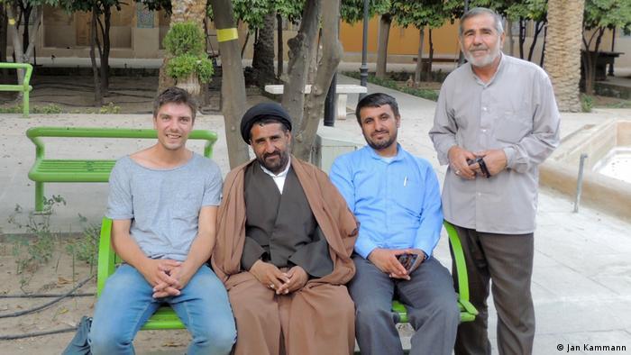 Kammann İran'daki mimariye hayran kaldığını belirtiyor