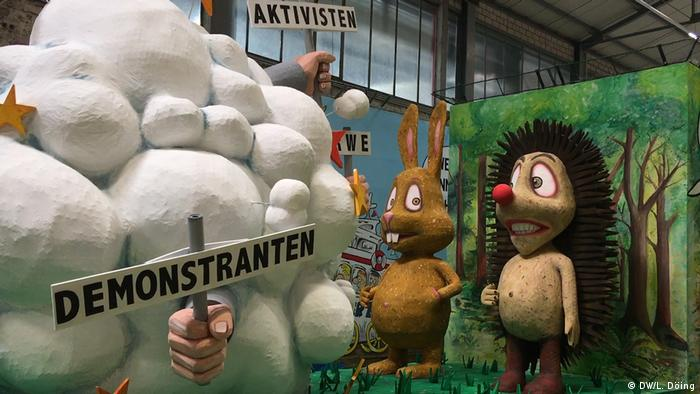 Deutschland l Karneval in Köln 2019 l Motivwagen (DW/L. Döing)