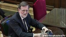 Spanien Madrid - Mariano Rajoy gibt Geständnis vor oberstem Gerichtshof