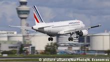 Amsterdam - Schiphol Flughafen: Air France Airbus A319-100 bei Landung