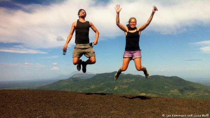 Kammann'ın Nikaragua seyahatinden