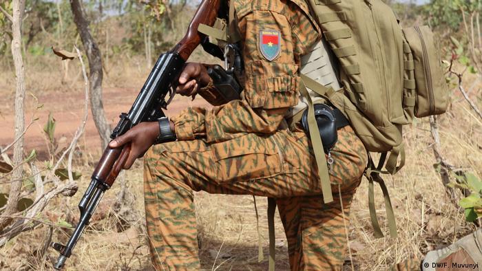 Afrika Burkina Faso l Militär