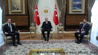 Türkei Ankara - Jared Kushner trifft auf Tayyip Erdogan