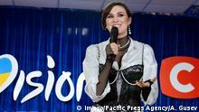 Ukrainische Sängerin Maruv (Anna Korsun)