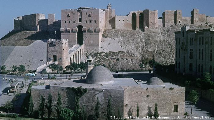 Aleppo Citadel before Syrian Civil War damage (Staatliche Museen zu Berlin, Museum für Islamische Kunst/E. Wirth)