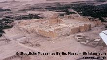 Syrien, der Tempel des Gottes Baal in der Oase von Palmyra, bevor sein Allerheiligstes, die Cella, vom sogenannten Islamischen Staat gesprengt wurde