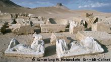 Syrien, im Tal der Gräber von Palmyra