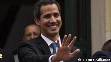 Der Interimspräsident von Venezuela Juan Guaido