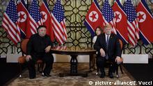 Hanoi, Präsident Donald Trump trifft den nordkoreanischen Staatschef Kim Jong Un