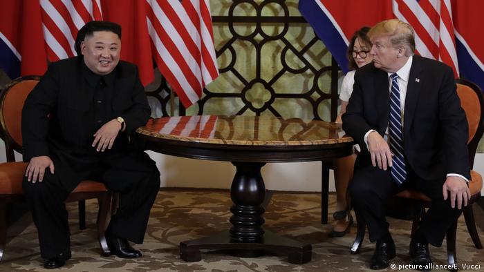 Hanoi, US-Präsident Donald Trump trifft den nordkoreanischen Staatschef Kim Jong Un