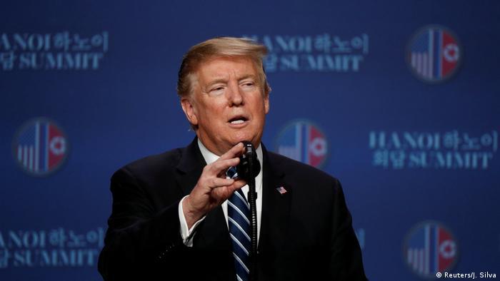 Vietnam l Trump nach Gipfeltreffen mit Kim Jong Un in Hanoi