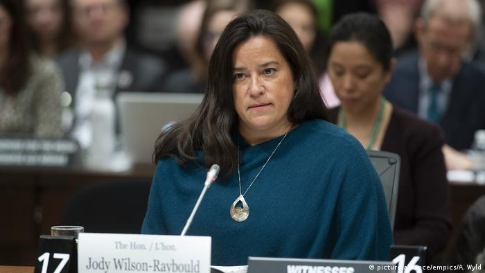 Prime Minister Justin Trudeau kicked both former ministers Wilson-Raybould (pictured here) and Philpott out of the Liberal caucus after they lost confidence in the Prime Minister and his cabinet's handling of the SNC-Lavalin criminal case.
