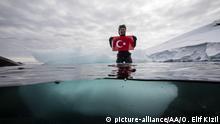 Antarktis Türkei errichtet Polarstation (picture-alliance/AA/O. Elif Kizil)