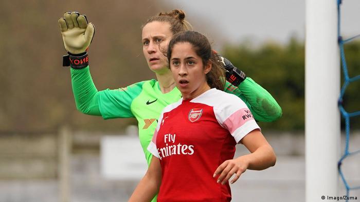 Fußball Frauen Törhüterin Ann-Katrin Berger Chelsea England