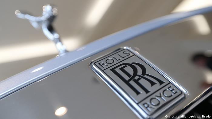 Autoindutrie l Logo l Rolls-Royce