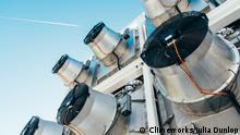 Schweiz Firma Climeworks bindet CO2 aus der Atmosphäre