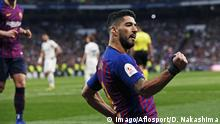 Fußball Spanien Copa del Rey Real Madrid v FC Barcelona