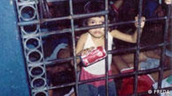 Kinder in Philippinischen Gefängnissen PREDA Malabon Rosie (PREDA)