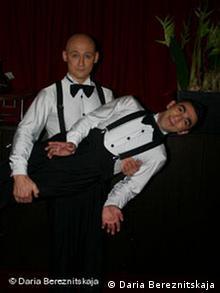 Евгений Дашковский (слева) и Ефрем Биткине