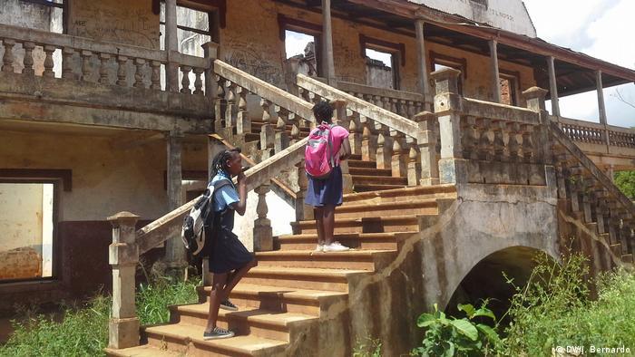 Mosambik Textafrica Insolvenz (DW/J. Bernardo)