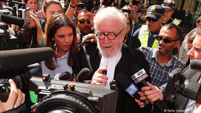 Australien Anwalt Robert Richter von Kardinal George Pell (Getty Images/M. Dodge)